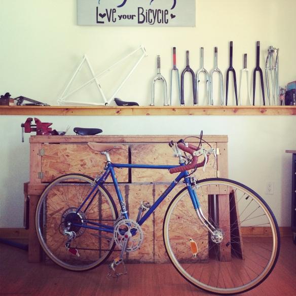 Azuki road bike Restored circa 1979
