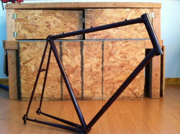 Custom Powder Coated 1982 Nishiki