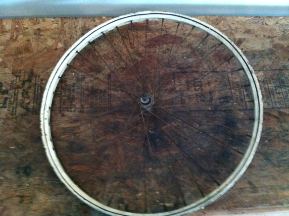 Raleigh Wheel Restoration (before)